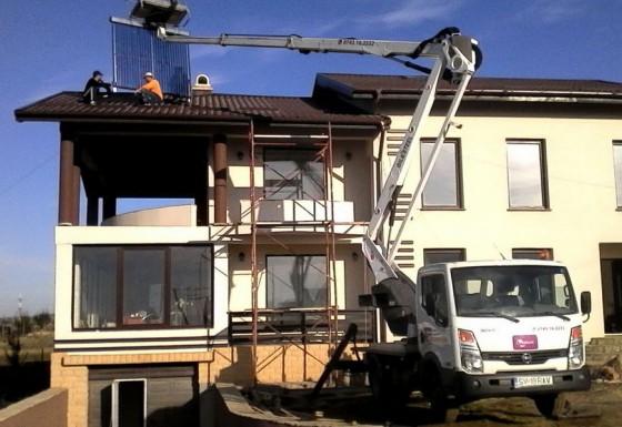 Montaj/ Intretinere jgheaburi, burlane si panouri solare
